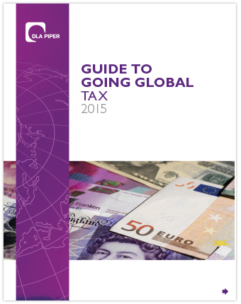 Guide to Going Global - Tax