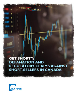 Short selling in Canada