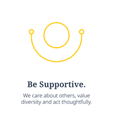 Be Supportive