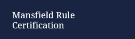 Mansfield Rule Certification