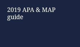 2019 APA & MAP guide