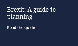 Brexit: A guide to planning