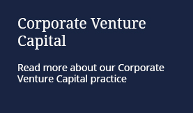 Read more about our Corporate Venture Capital practice
