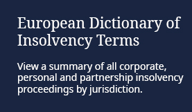European Dictionary of Insolvency Terms