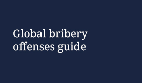 Bribery offences