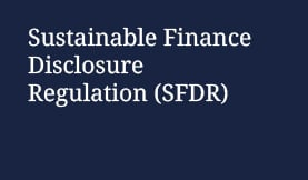 Sustainable Finance Disclosure Regulation SFDR