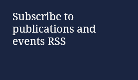 Subscribe to publications and events RSS