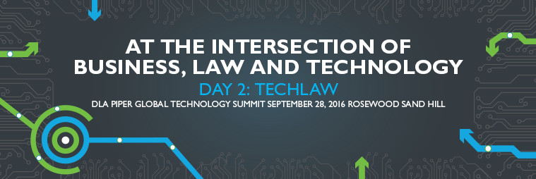 Day 2 banner image for the Tech Summit event.