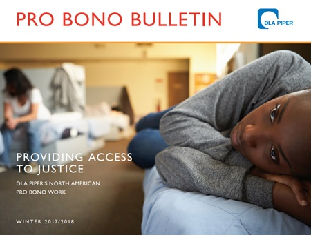 Cover of Pro Bono Bulletin