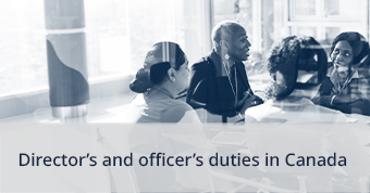 Directors and Officers Duties