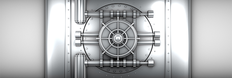 Image of a bank vault