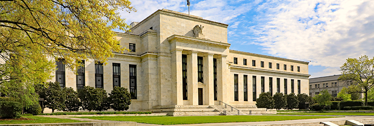 Image of Federal Reserve Building in Washington, DC