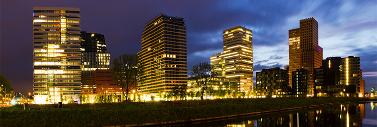 Image of office buildings in the Netherlands
