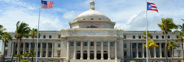 Image of Puerto Rico Capitol building