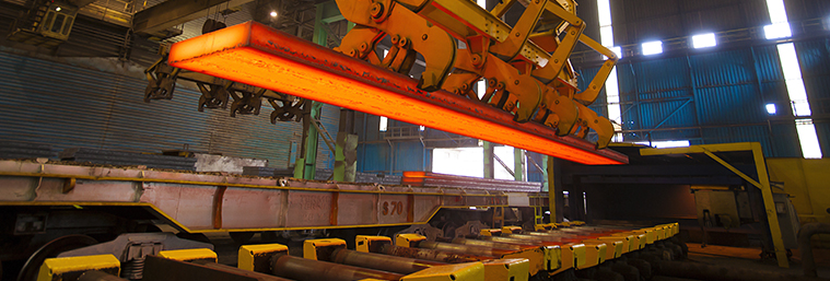 Image of steel manufacturing plant