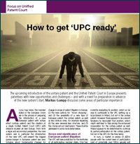 How to get UPC ready