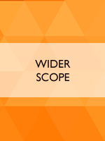 Wider scope