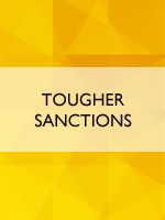 Tougher sanctions
