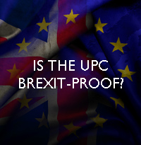 Is the UPC Brexit-proof?