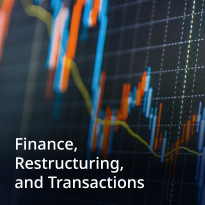 Finance, Restructuring and Transactions