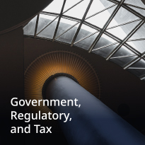 Government, Regulatory and Tax