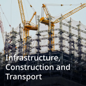 Infrastructure, construction and transport