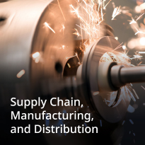 Supply Chain, Manufacturing and Distribution