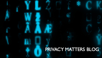 Privacy Matters Blog